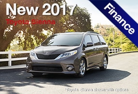 Toyota Sienna Finance Deal