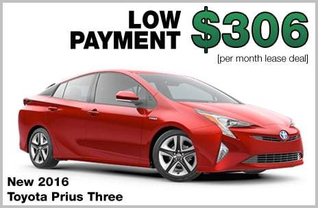 Toyota Prius Money Down Lease
