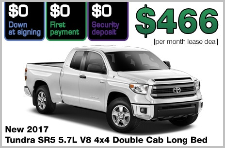 Toyota Tundra Lease Deal