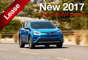 Toyota RAV4 Hybrid Lease Deal