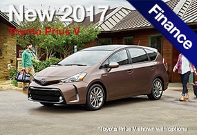 Toyota Prius V Finance Deals