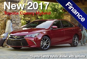 Toyota Camry Hybrid Finance Deal