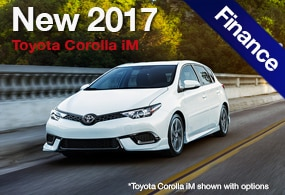 Toyota Corolla iM Finance Deals