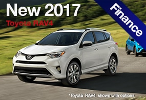 2017 Toyota Rav4 Finance Deal