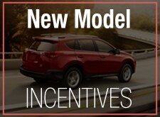 Toyota New Model Incentives