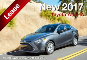 Toyota Yaris iA Lease Deal