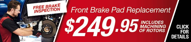 Brake Pad Replacement Special, Orlando