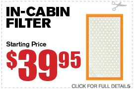 Hepa or Pollen Filter Coupon