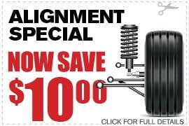 Vehicle Alignment Coupon