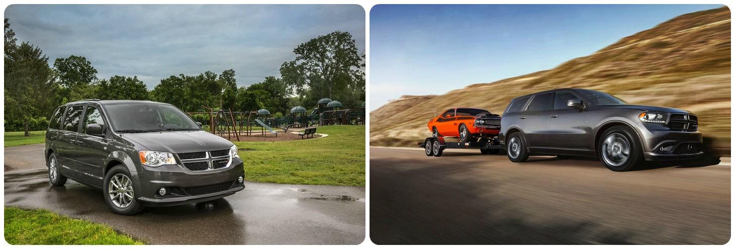 Dodge Grand Caravan and Durango photo stitch