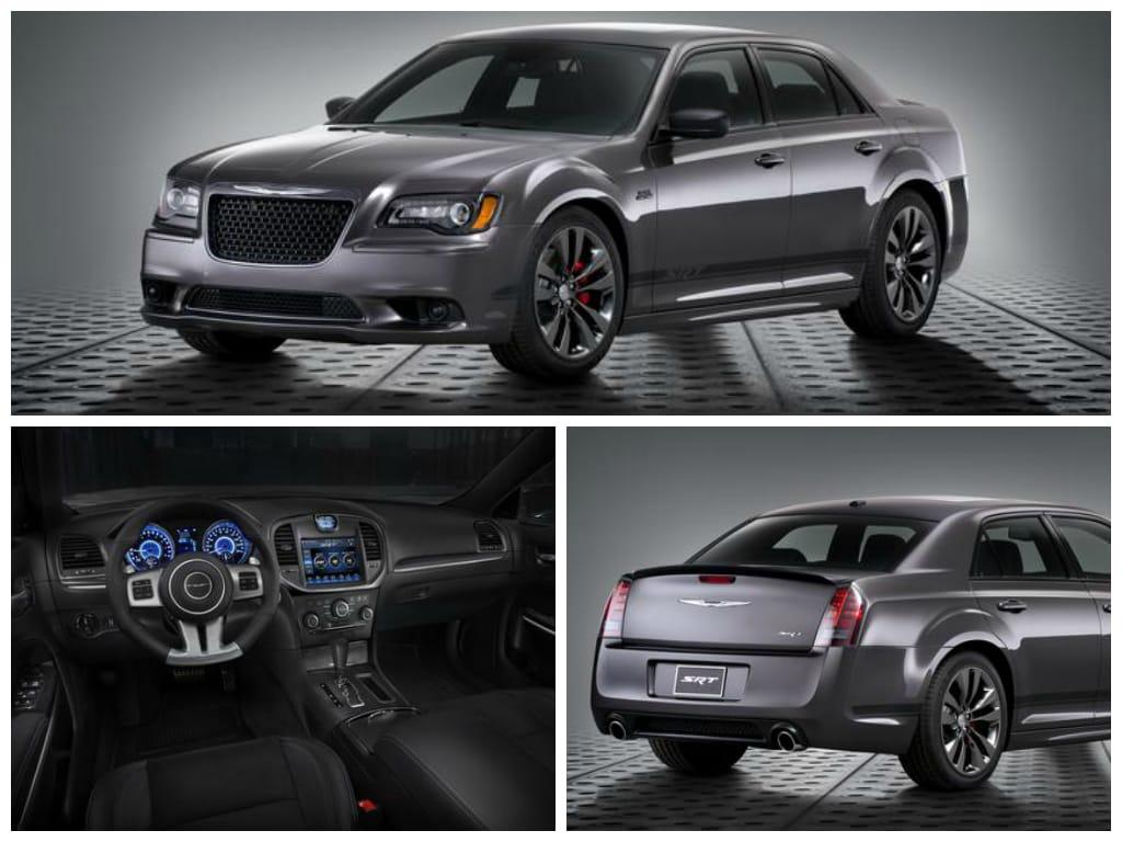 Chrysler 300 SRT interior and exterior