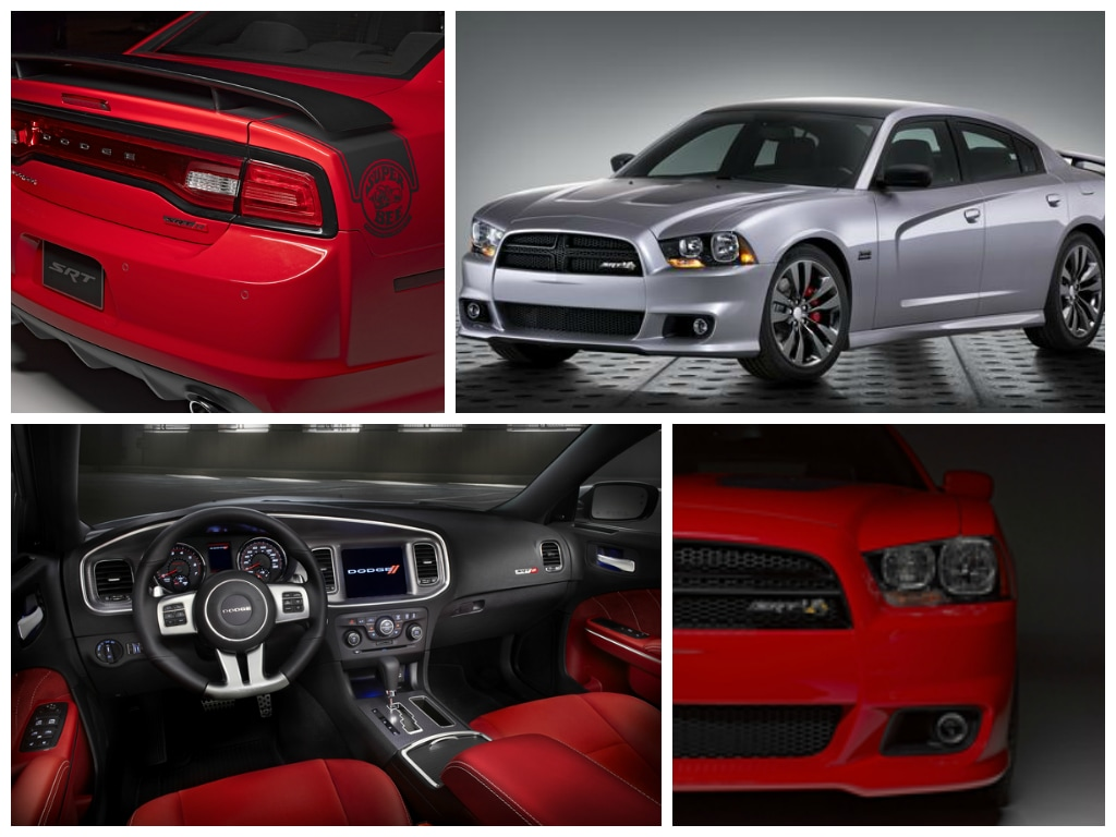 Dodge Charger SRT interior and exterior