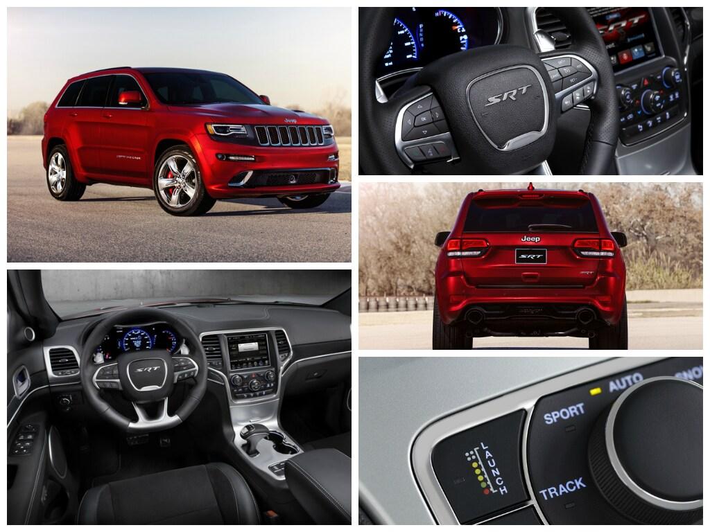 Jeep Grand Cherokee SRT interior and exterior