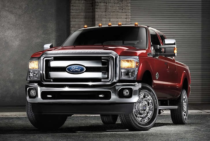 strong performance - 2015 Ford F250