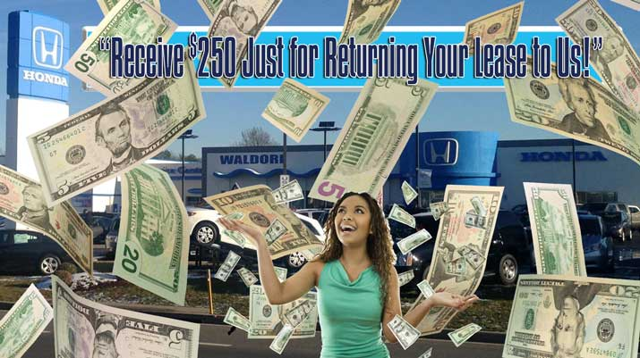 honda lease return program waldorf md