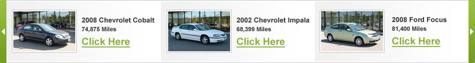 Featured UsedCarXpress Vehicles