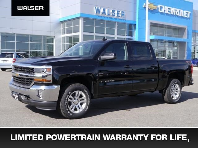 New 2017 Chevrolet Silverado 1500 LT 4x4 Crew Cab Allstar htd seats Truck Crew Cab near Minneapolis & St. Paul MN