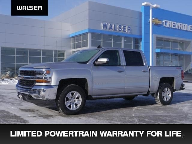 New 2017 Chevrolet Silverado 1500 LT CREW Truck Crew Cab near Minneapolis & St. Paul MN