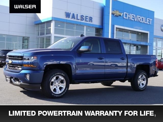 New 2017 Chevrolet Silverado 1500 Z71 Truck Crew Cab near Minneapolis & St. Paul MN