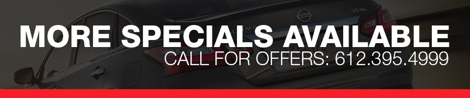 Nissan Lease Specials in MN