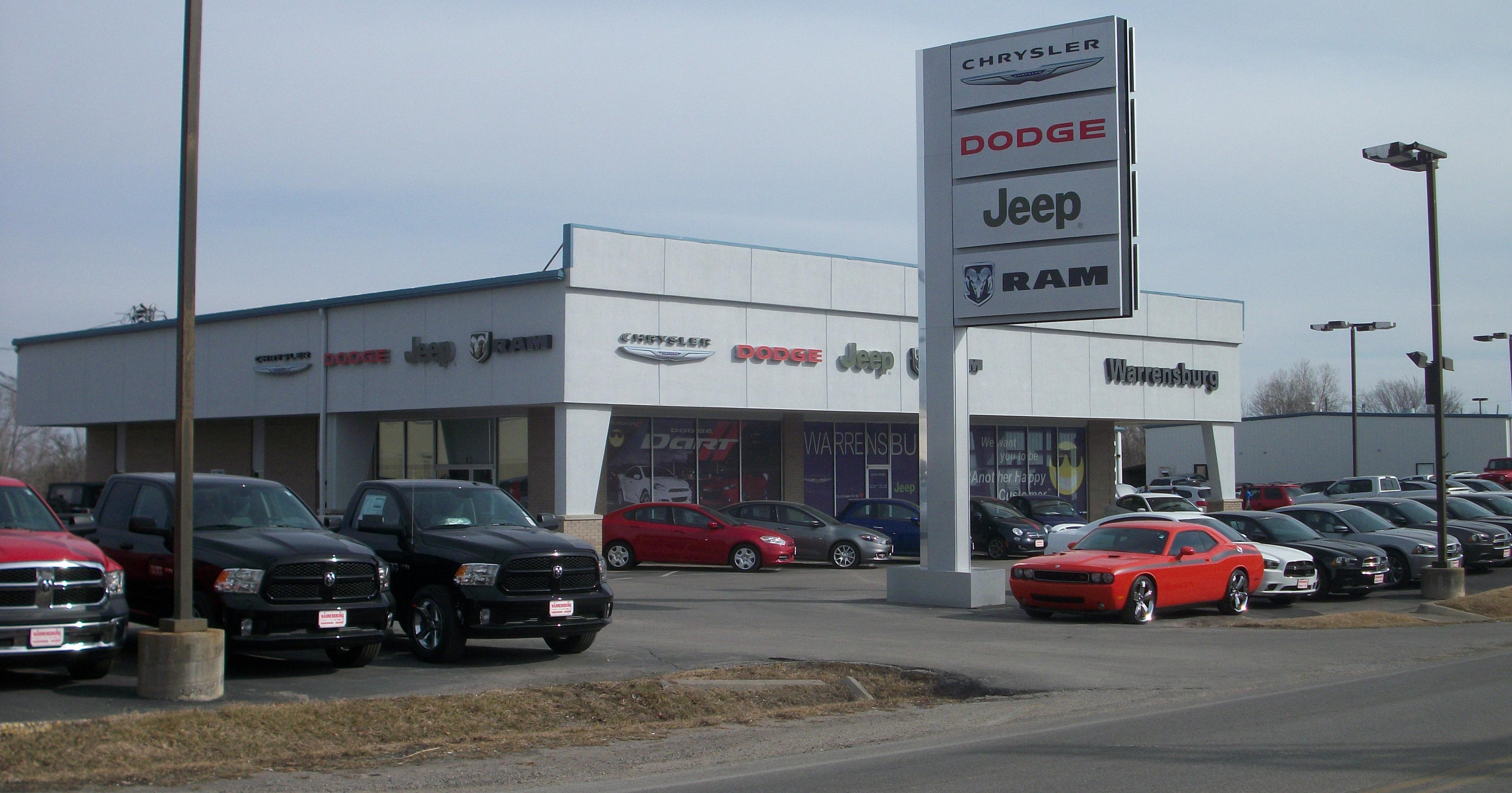 About Warrensburg Chrysler Dodge Jeep RAM