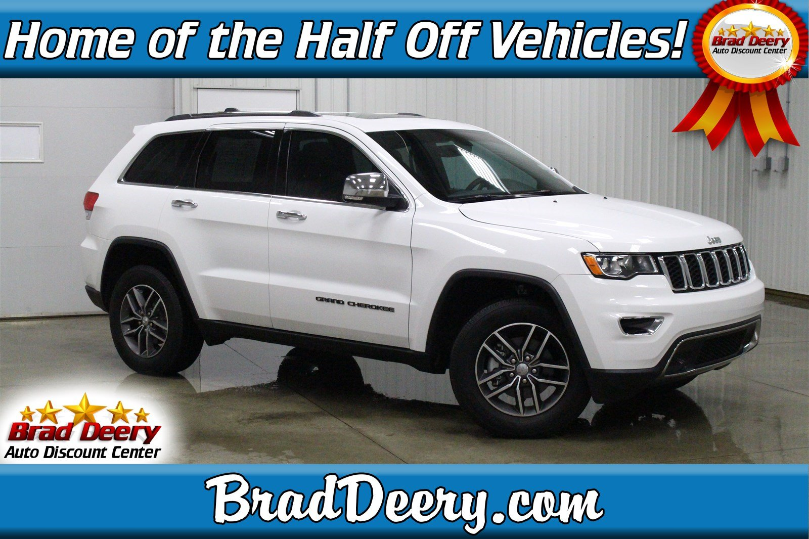 Used 2017 Jeep Grand Cherokee Limited 4X4 w/ Nav, Sunroof, H. Leather & R. Start Sport Utility in Maquoketa