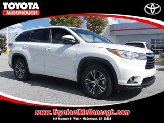 Rent a 2016 Toyota Highlander XLE