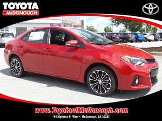 Rent a 2016 Corolla S Plus