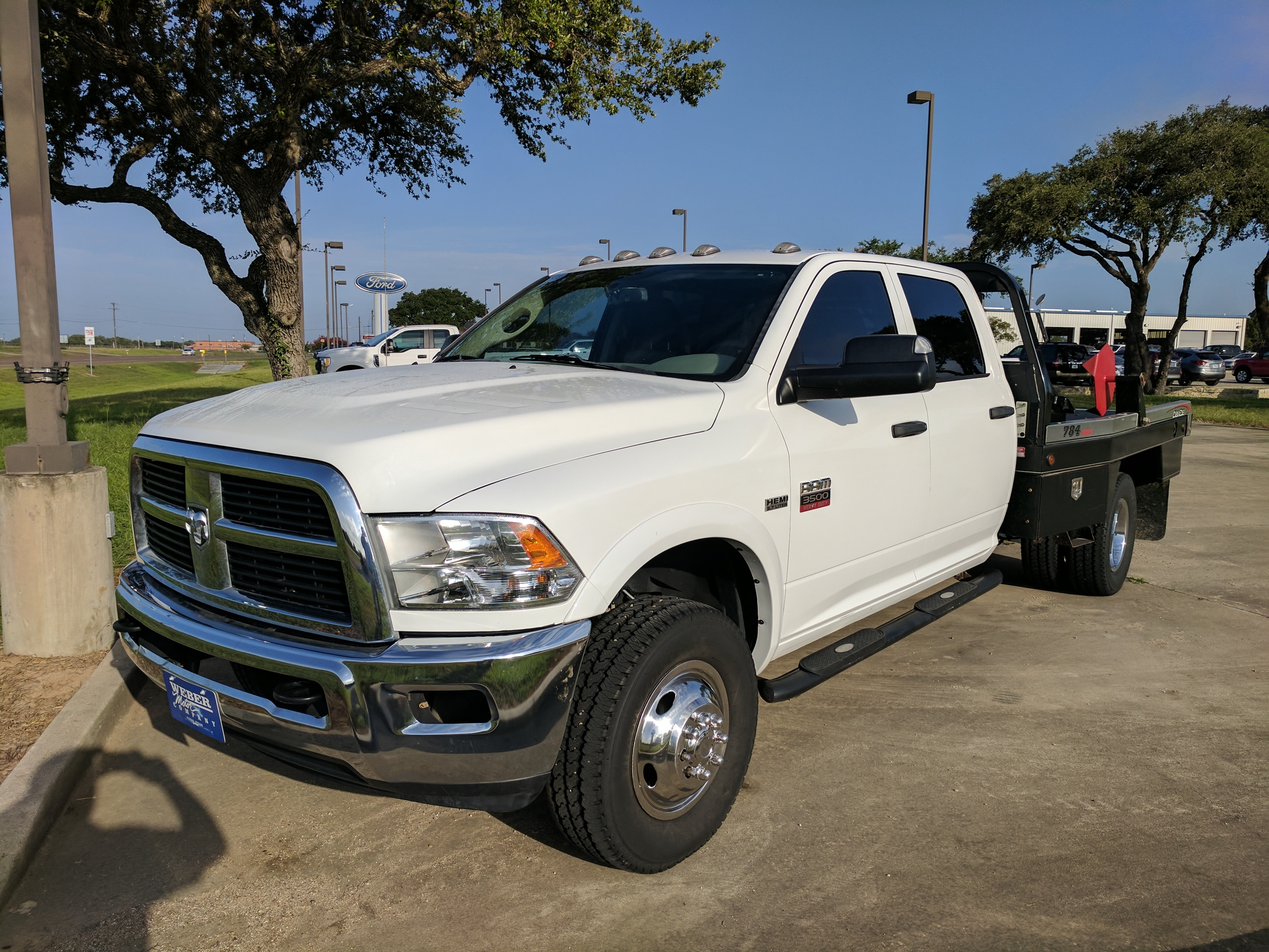 2012 Ram 3500 Chassis ST 4x4 Crew 172.4in Truck Crew Cab