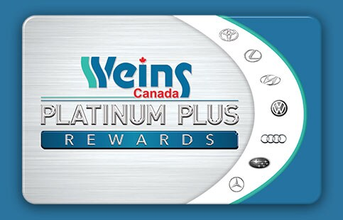 Weins Platinum Plus Member Card