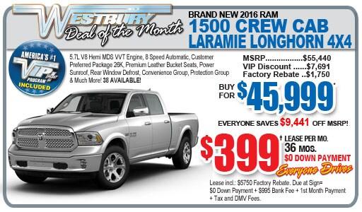 New RAM Truck Lease Deals in Long Island