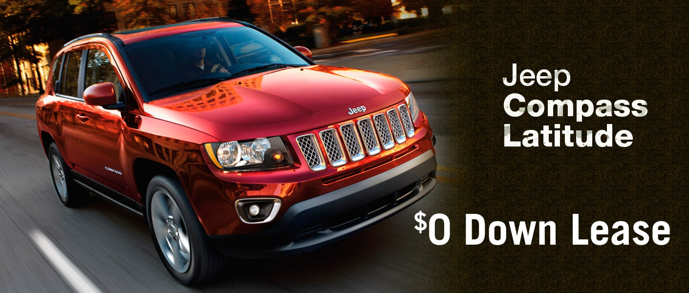 jeep compass latitude 0 down lease long island ny. Black Bedroom Furniture Sets. Home Design Ideas