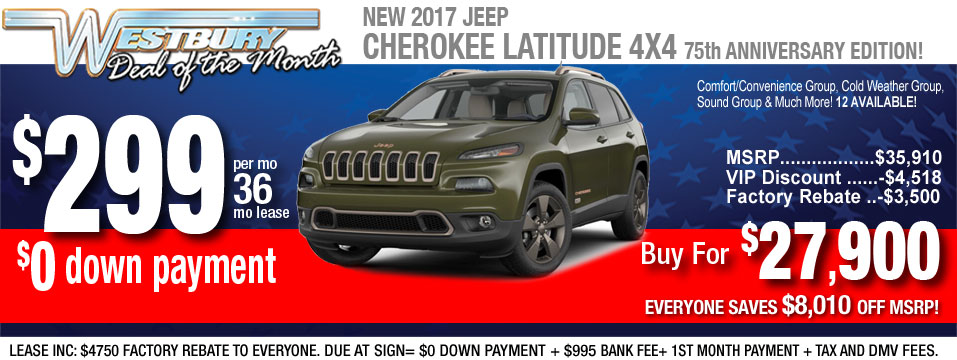 jeep cherokee latitude lease deal and sale at long island jeep dealer. Cars Review. Best American Auto & Cars Review