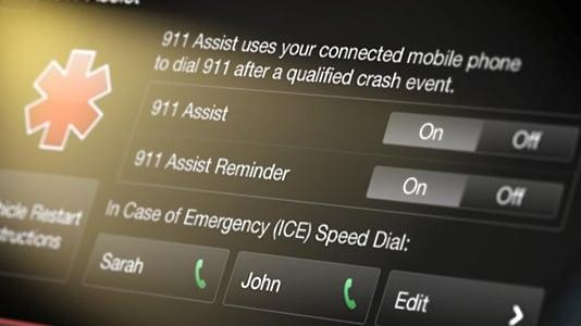 SYNC3 911