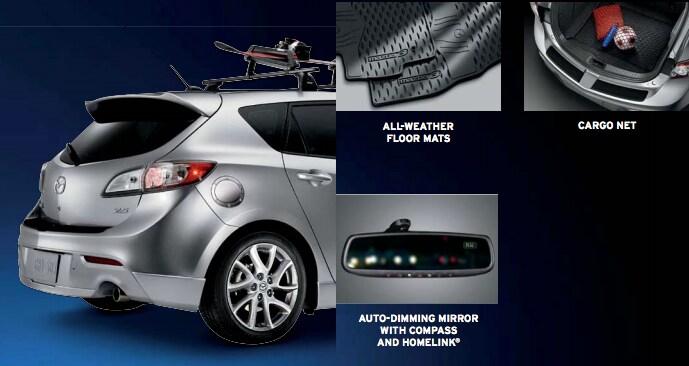 2013 Mazda3 Accessories