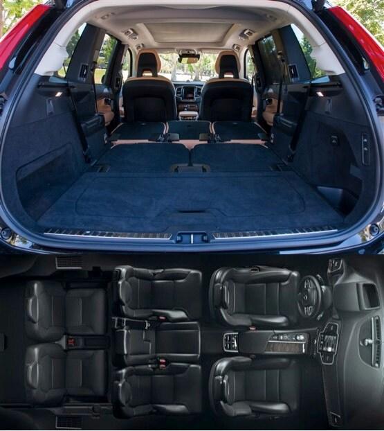 Volvo Xc90 R Design Black Interior: 2016 XC90 Interior Features St. Louis, MO