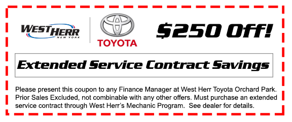 West Herr Toyota Of Orchard Park