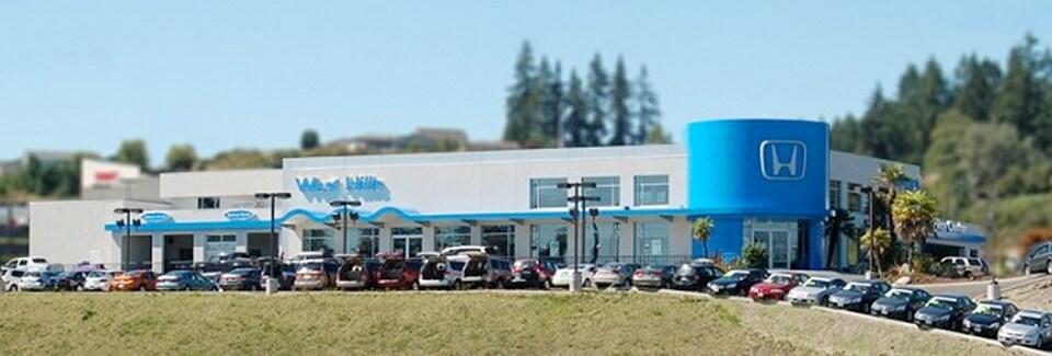 West hills honda honda dealer in bremerton wa for Honda dealers in washington state