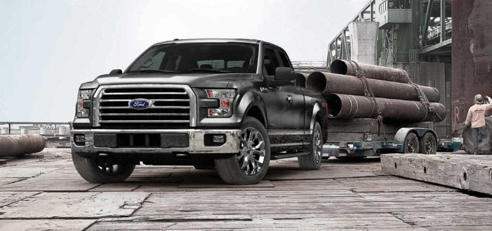 2017 Ford F-150 towing power