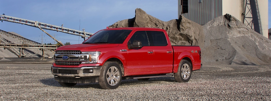 A red 2018 Ford F-150 in Washougal, WA. Schedule a test drive today!