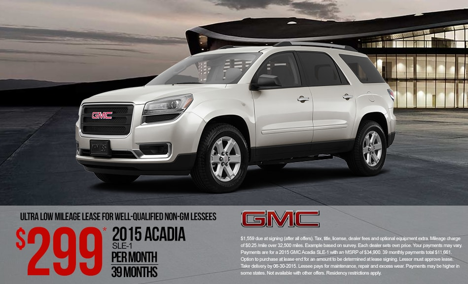 Gmc terrain lease deals mn