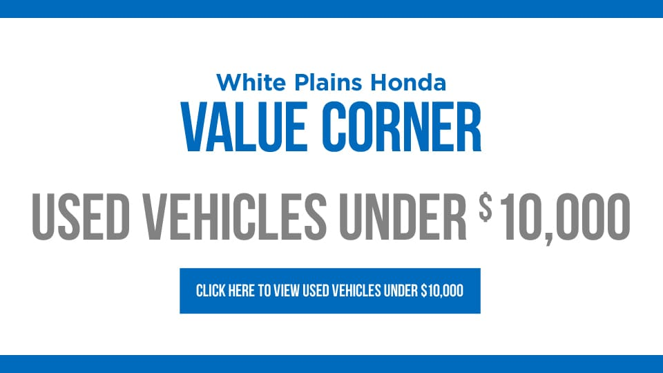 White plains honda honda dealership new used cars for Yonkers honda service center