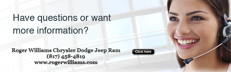 Contact Chrysler Dodge Jeep Ram Dealer Near Springtown TX