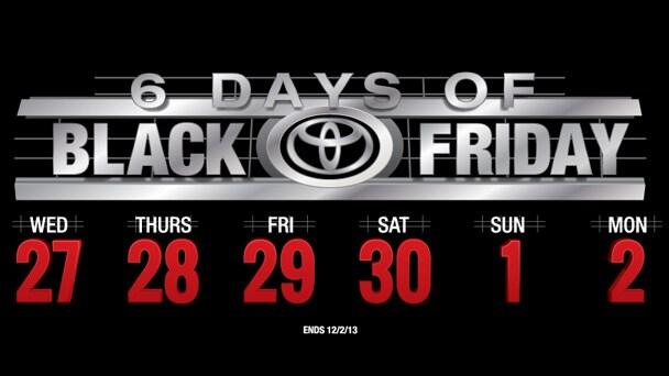 Scion Black Friday Sale Black Friday Sales Event