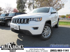 New 2018 Jeep Grand Cherokee Laredo SUV for sale in South Burlington, VT at Willie Racine's Jeep