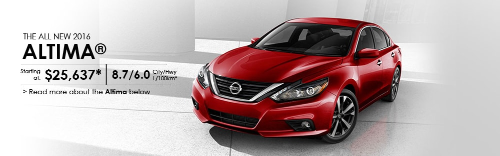 The All New 2016 Nissan Altima Willowdale Nissan New