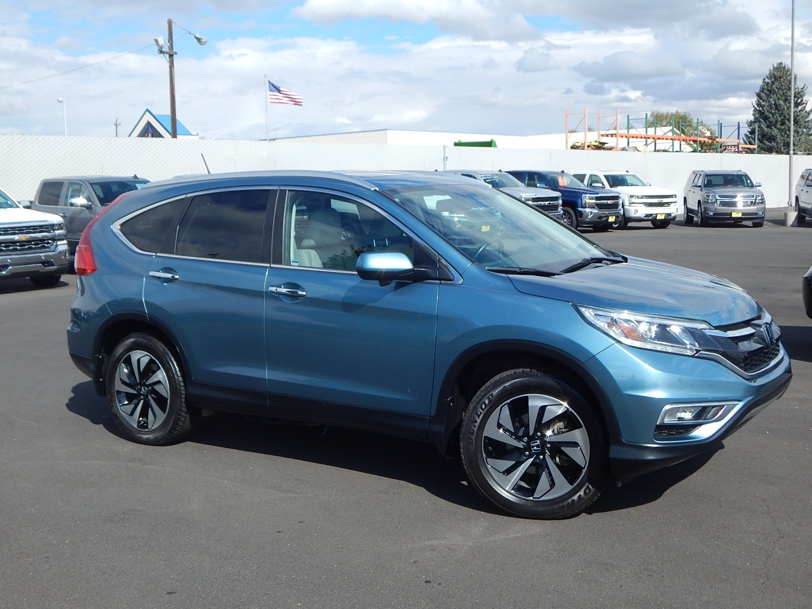 2015 Honda CR-V Touring AWD We offer financing for just about anyone Good Credit Bad Credit REP