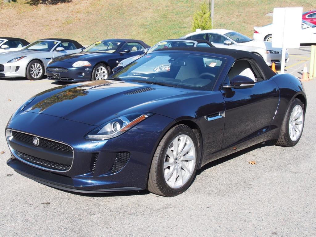 Car Picker Blue Jaguar F Type