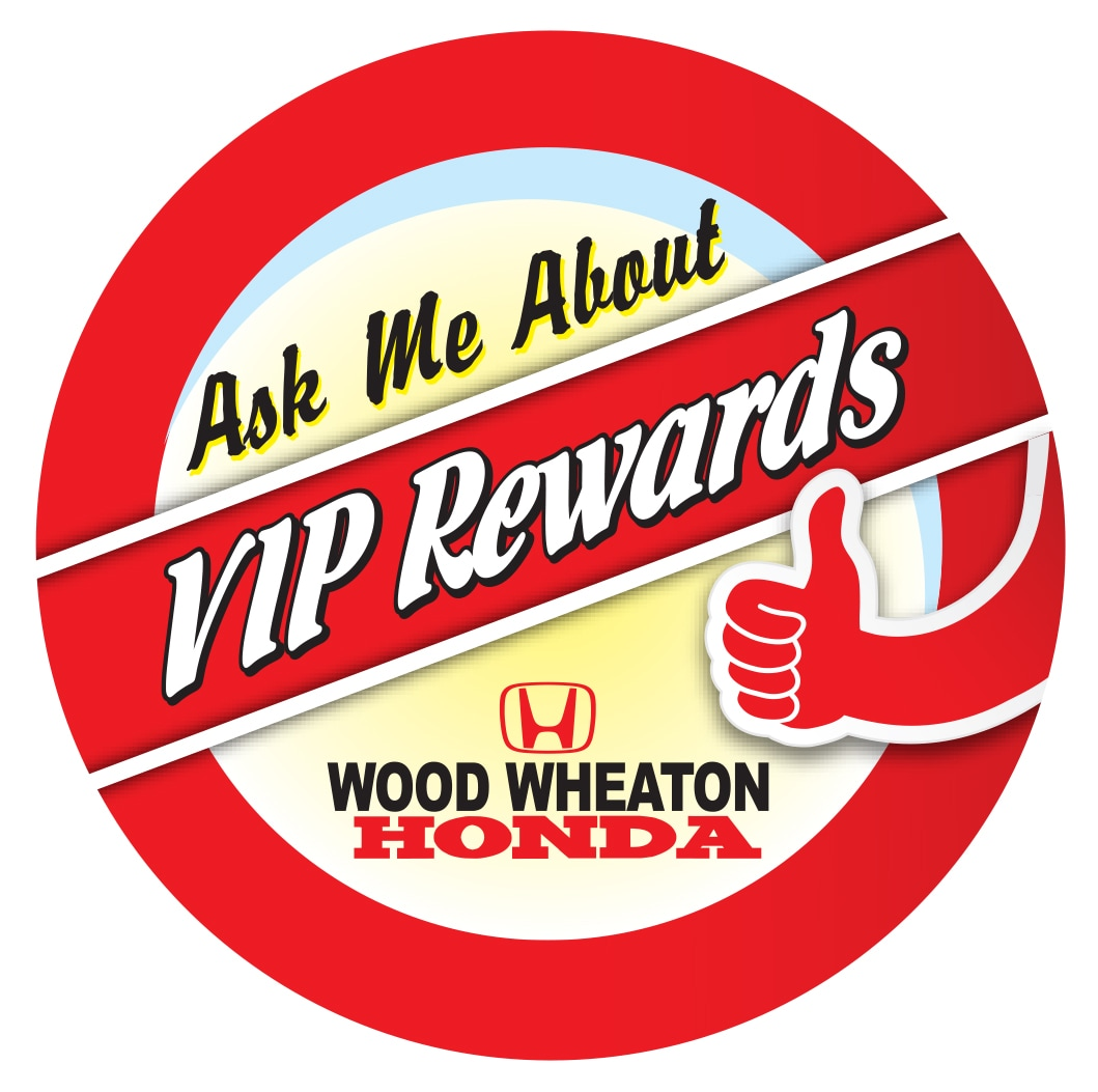 honda service VIP rewards