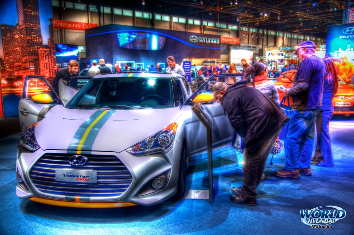 2012 Chicago Auto Show At Mccormick Place North America